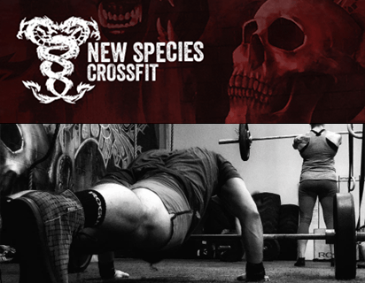 New Species CrossFit Website